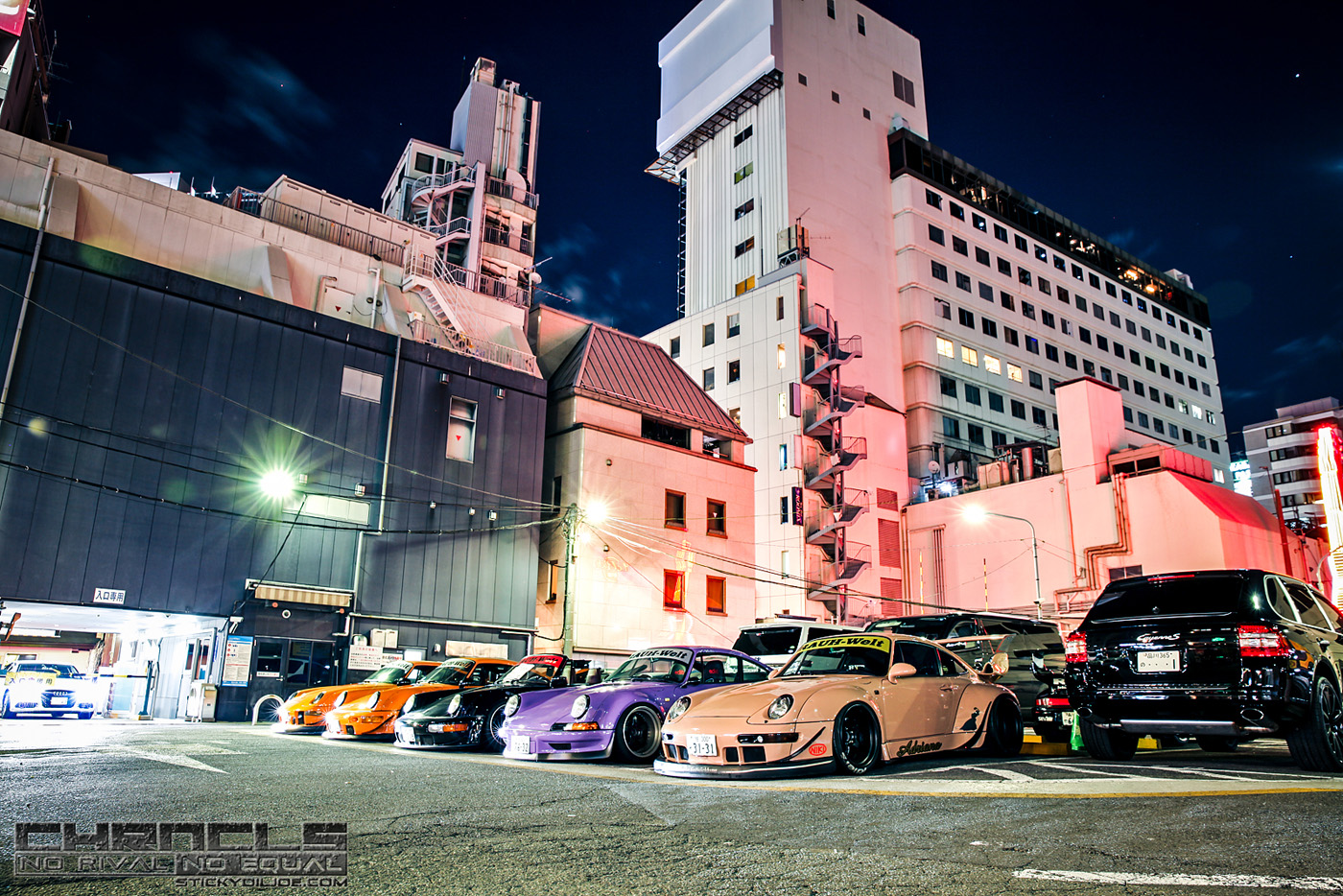 The Chronicles Tokyo 2015 Coverage…Part 1: Arrival in Japan, RWB Meet, and Day 1 of TAS…