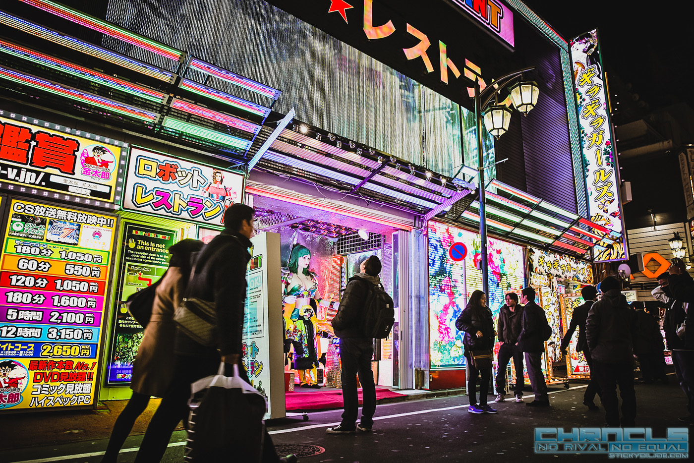 The Chronicles Tokyo 2015 Coverage…Part 3: ROBOT RESTAURANT!!!!…