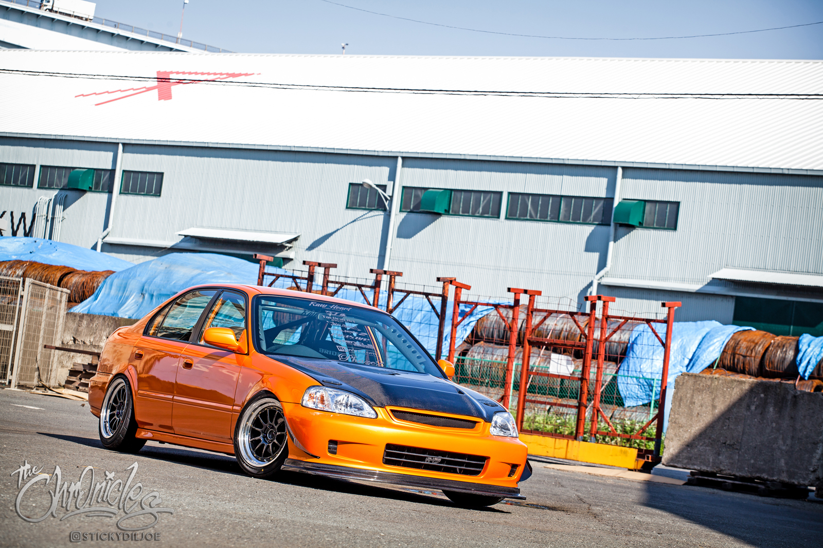 Exclusive Content: Unpublished Photos of Tomo Sasaki's Ferio from Super Street Magazine…