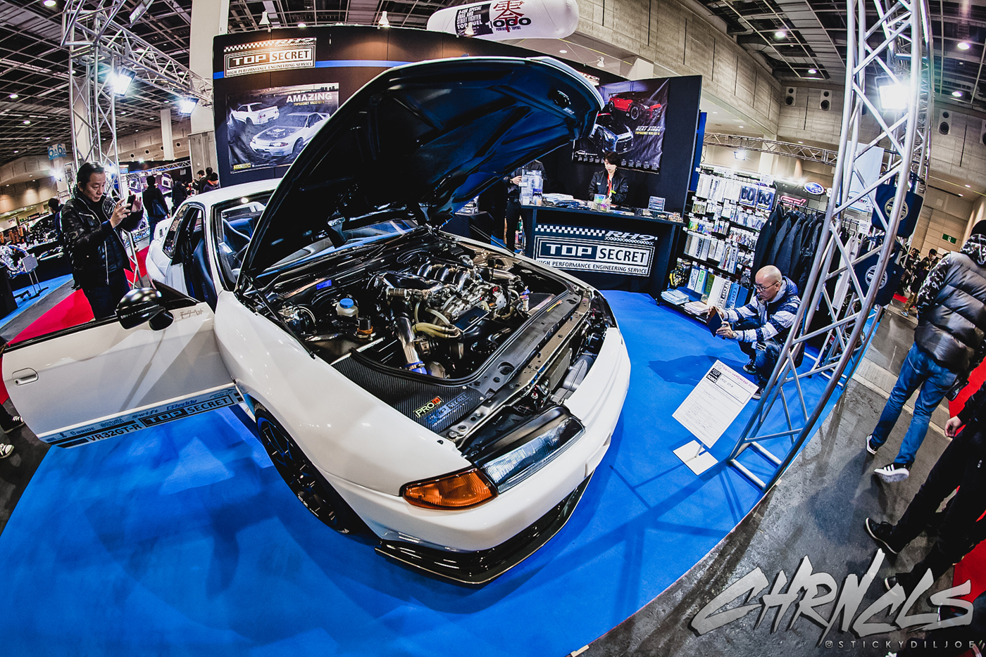 The Chronicles Vlog 2017 #2 (Part 4): Day 2 of Auto Messe and an Osaka Civic Night Meet…
