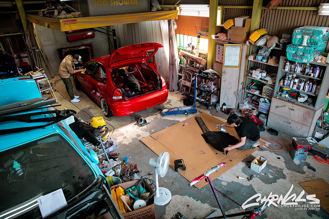 Building a Civic Type R for Wekfest Japan – CHRNCLS Vlog 2019 #14