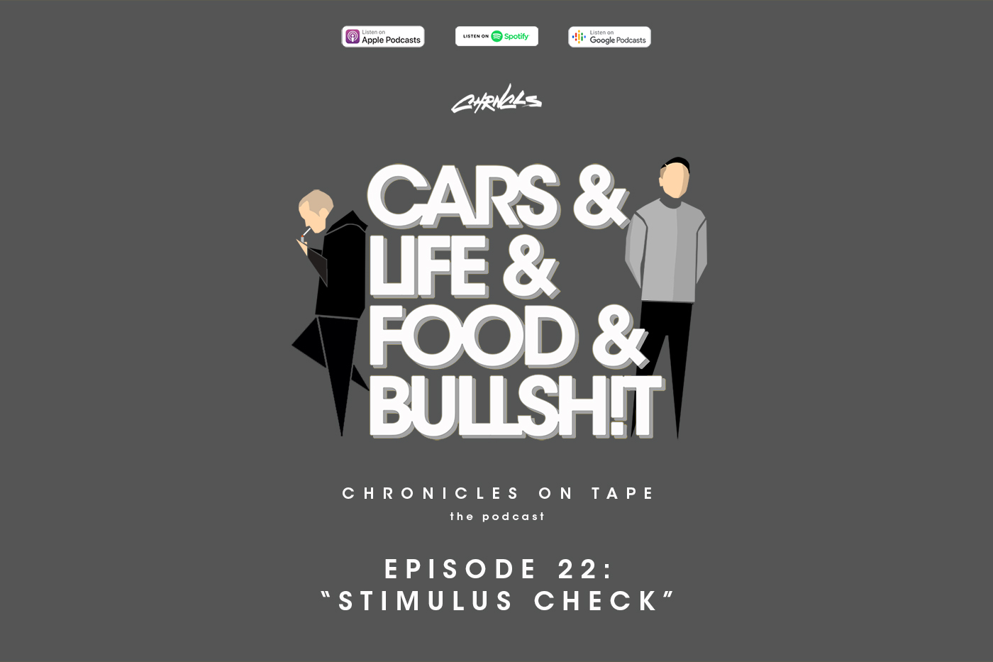 "Chronicles On Tape Podcast Episode 22: ""Stimulus Check"""