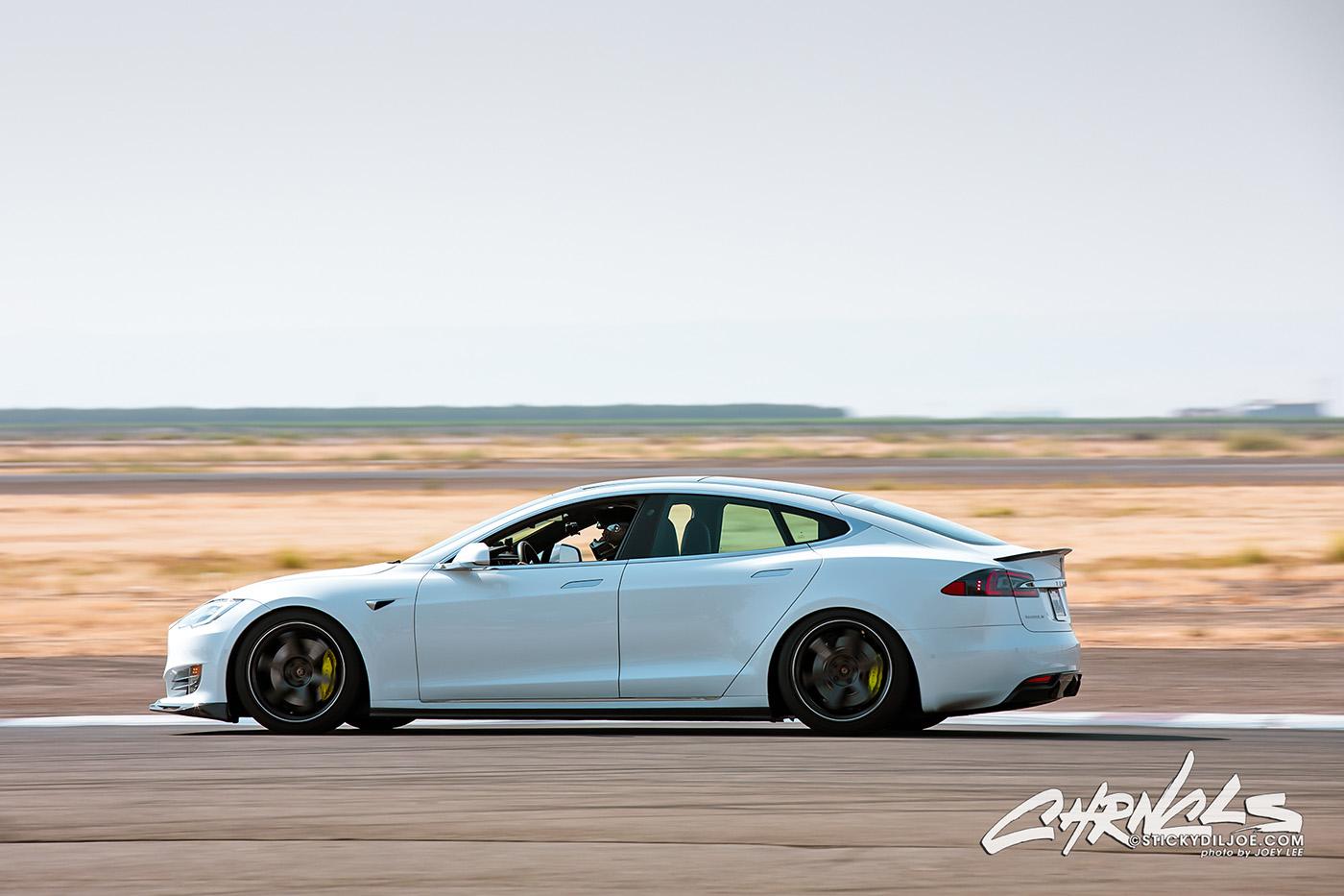 Testing The TDG Tesla Model S At The Track… CHRNCLS Vlog 2020 #22