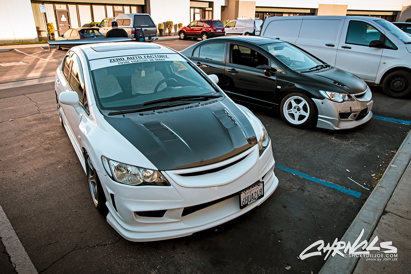 Quick Photos of Cody Chan's FA5 Civic…