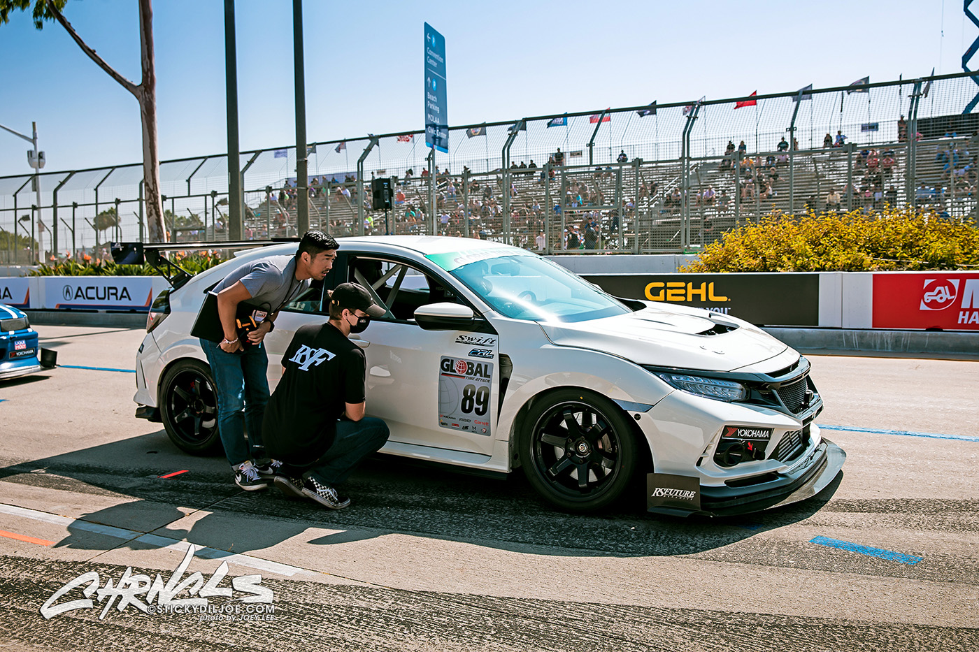 Attacking The Streets Of Long Beach In A Civic Type R… CHRNCLS Vlog 2021 #18